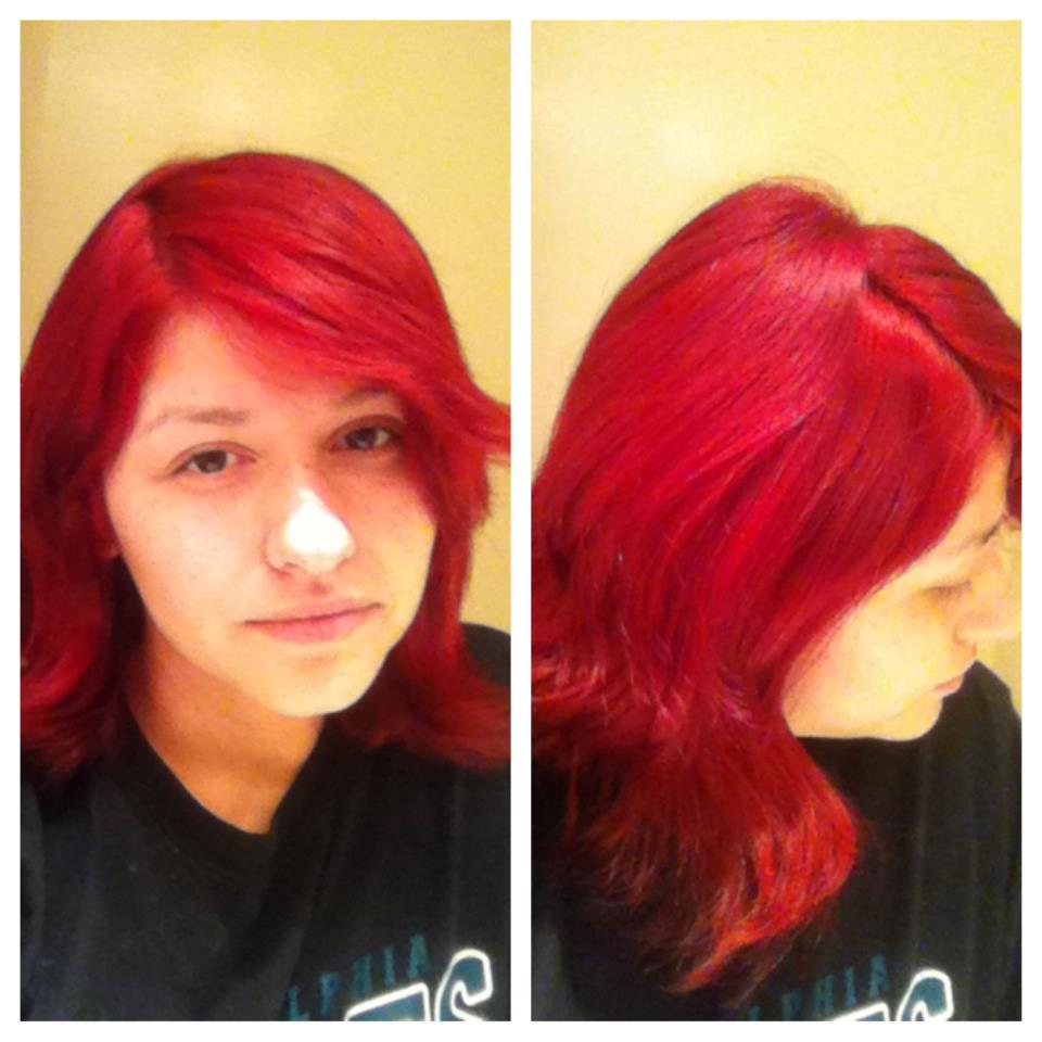 How I Did My Own Root Touch Up On My Red Hair