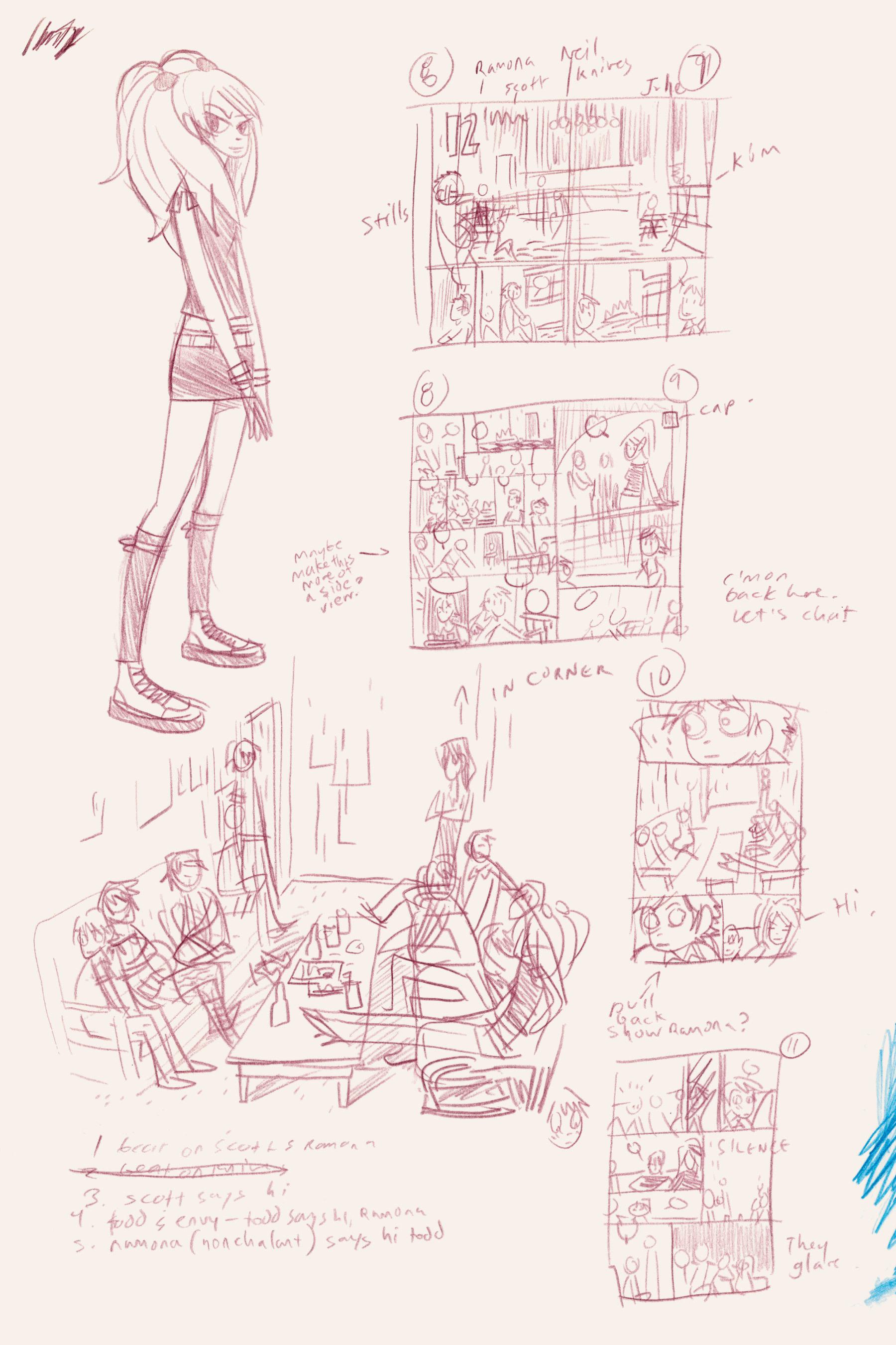 Read online Scott Pilgrim comic -  Issue #3 - 210