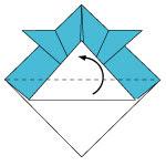 Topi Samurai Origami