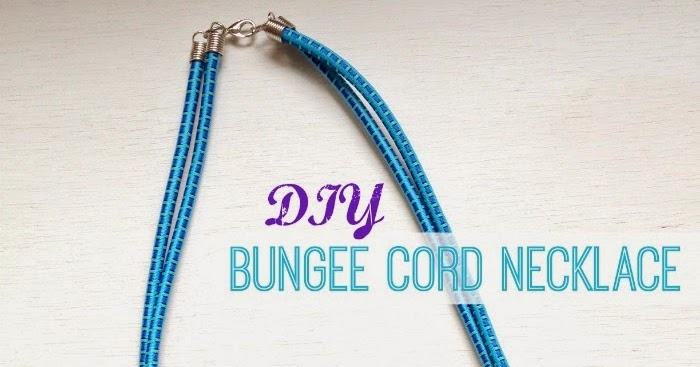 how to make a cord necklace