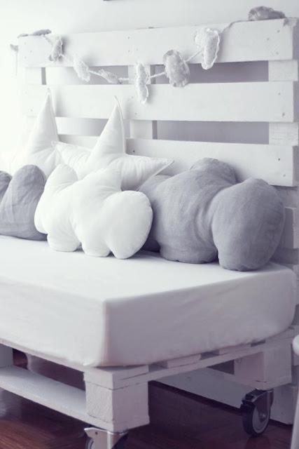 sofa cama de palés