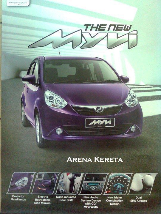 brochure gambar perodua myvi 2011 baru