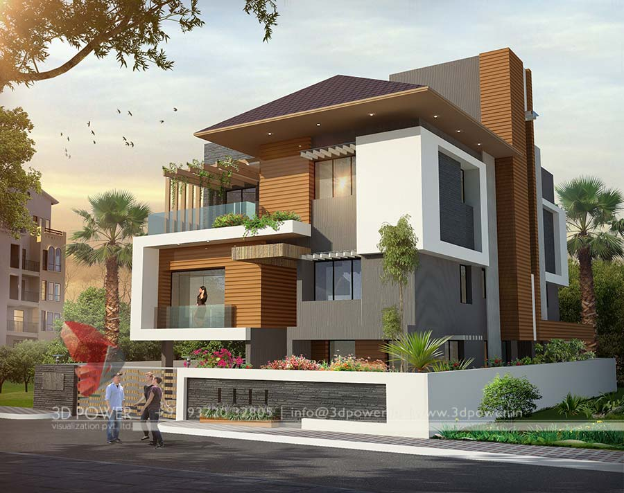 Ultra modern home designs home designs modern home for Architecture design for home in rajkot