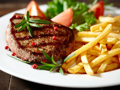 Red meat by Science relief