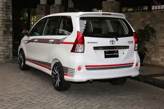 Toyota Avanza Luxury 2015