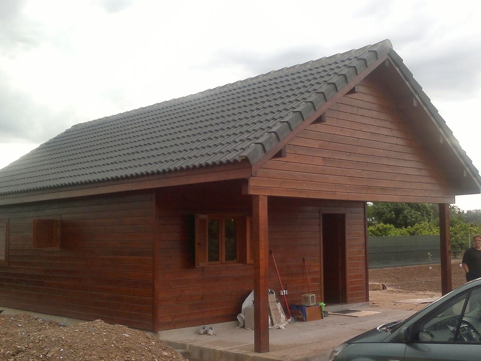 Casas de madera casas prefabricadas refugios madera - Casas de madera gandia ...