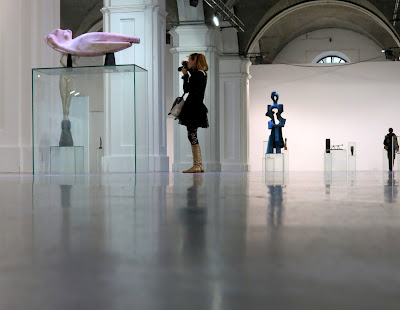 """Фрагмент экспозиции """"100 шедевров мировой скульптуры"""""""