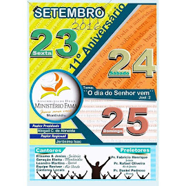 23 a 25| Setembro| Montividiu| GO