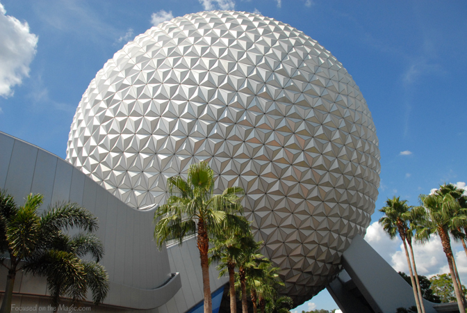 Spaceship Earth, Epcot, Focused on the Magic Photography