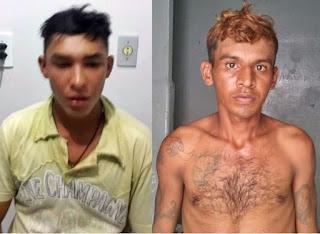 Presa dupla que estuprou e matou idosa de 80 anos em Patos
