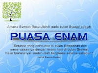 Hikmah Keutamaan Puasa 6 Hari Bulan Syawal