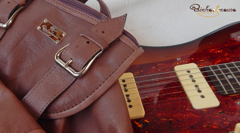 mochila e musica