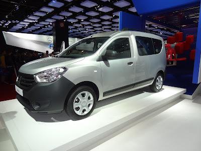 New Dacia models at the 2012 Paris Motor Show