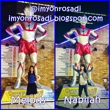 Ultraman Melody Nabilah Member JKT48
