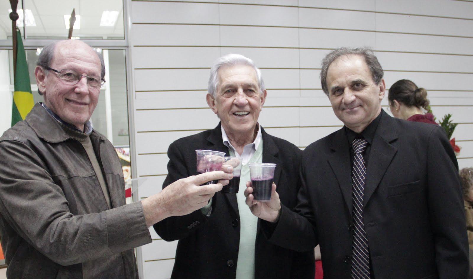 Airton Engster dos Santos, Sérgio Bruxel e Hélio Musskopf