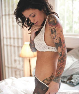 World's Tattooed Pin up Girls Pics