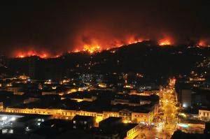 Incendios forestales Valparaiso