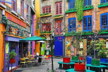 Neals Yard, London