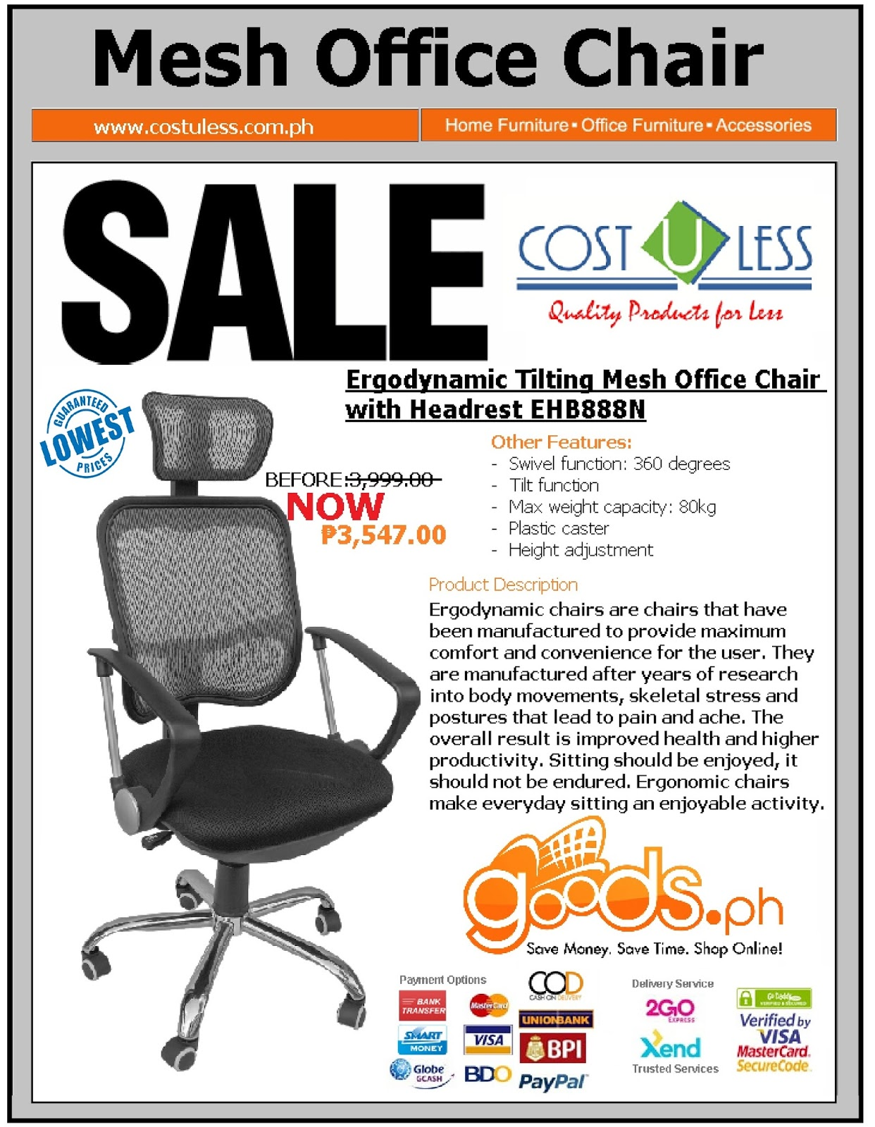 Cost u less office furniture manilafurniture supplier for Office furniture at home goods