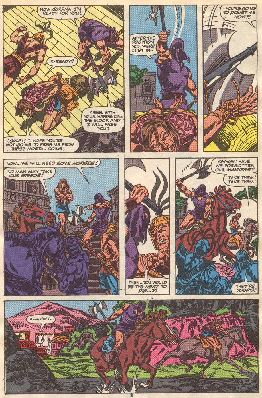 Conan the Barbarian (1970) Issue #237 #249 - English 4