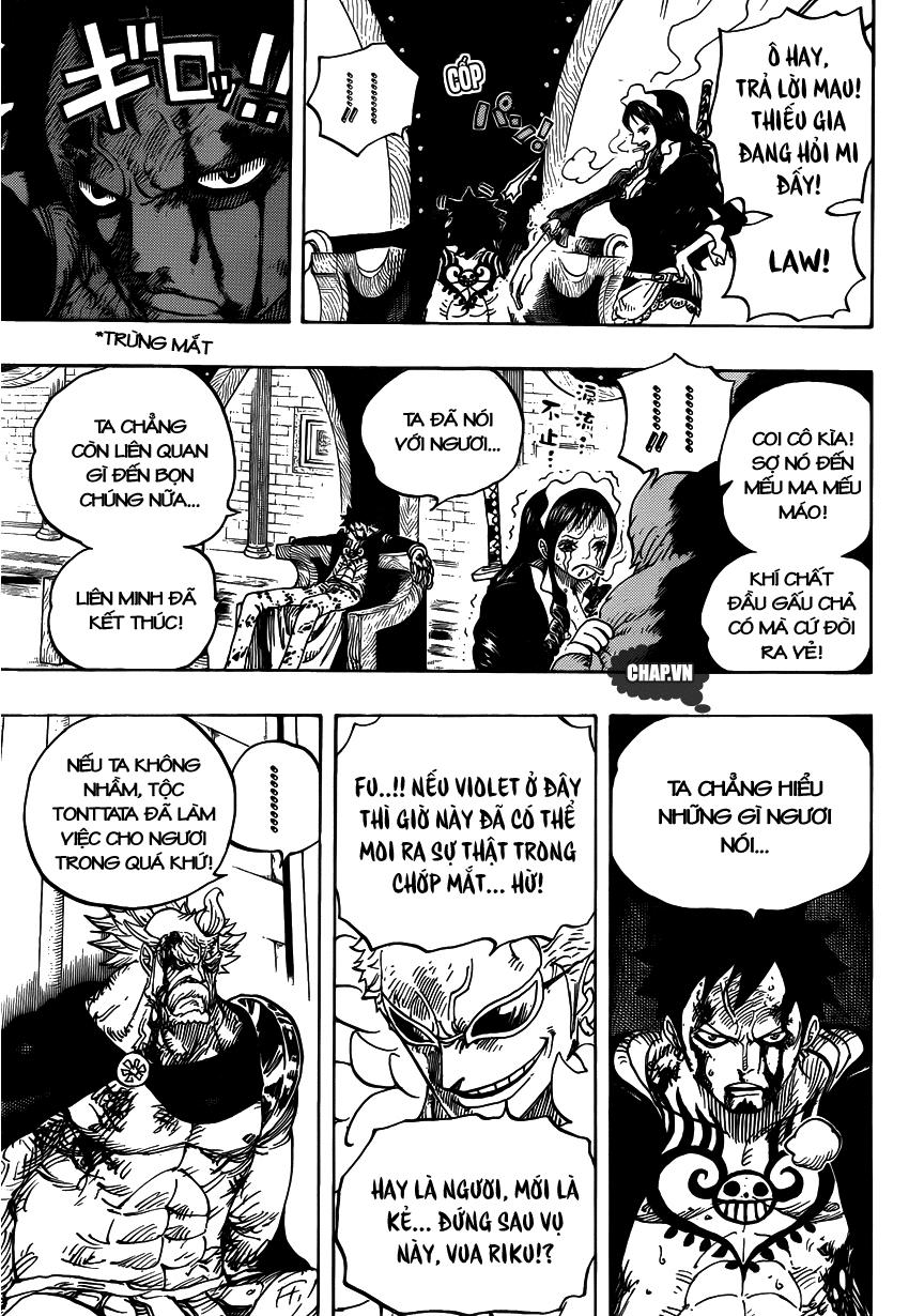 One Piece Chapter 740: Gửi trọn niềm tin 015