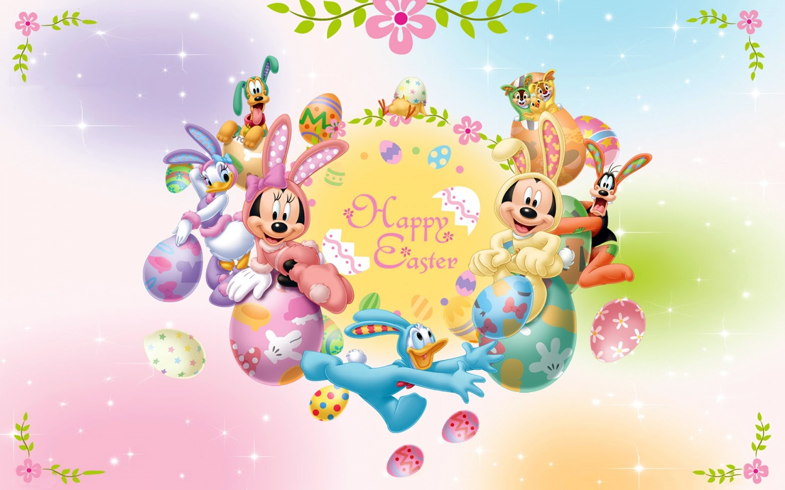 Mickey Mouse Happy Easter