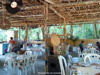 Recanto Miriabília Dei (Restaurante do Padre): Ambiente