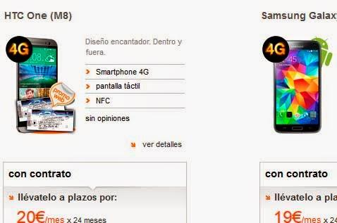 Ofertas móviles Orange en abril 2014