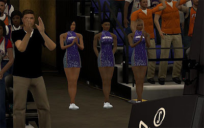 NBA 2K13 Phoenix Suns Dancers Patch