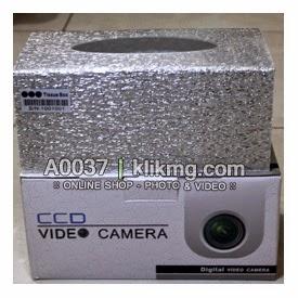 Nama Barang : Kotak Tissue dengan Kamera Pengintai | Sangat cocok dipakai sebagai Kamera Pengintai | Tissue BOX Hidden Camera Motion detection  Kode Barang : A0037