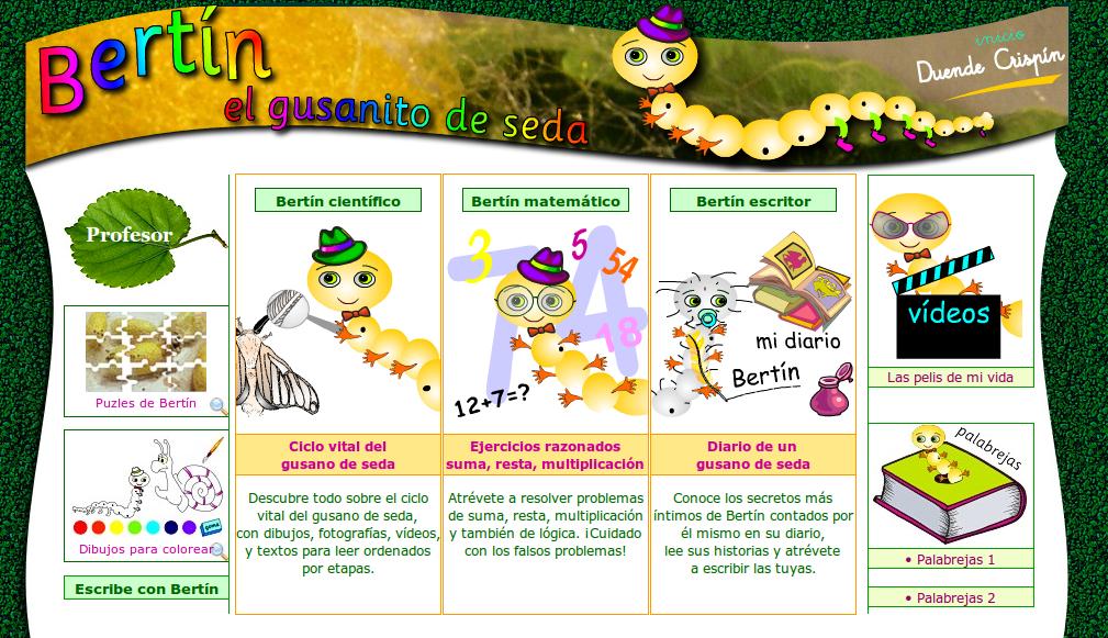 http://www.duendecrispin.com/gusanito-de-seda/index.html