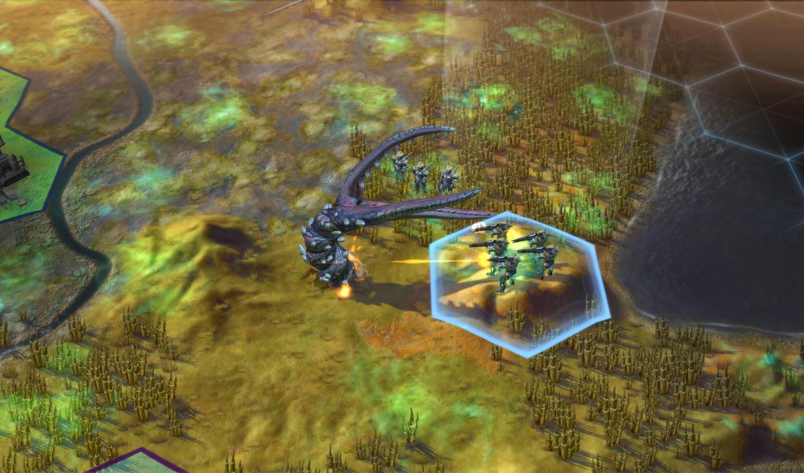 Sid Meiers Civilization: Beyond Earth screenshots