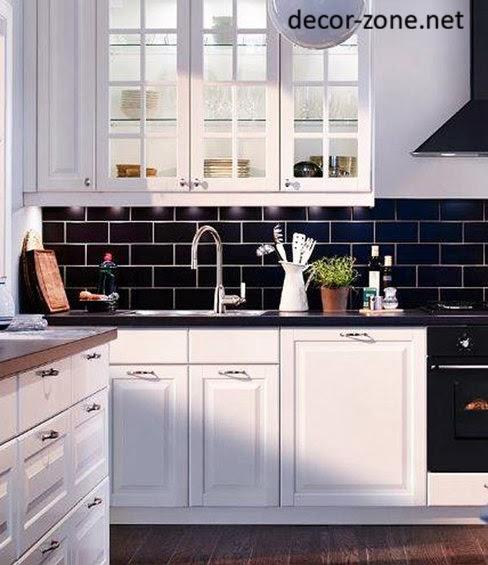 Kitchen Tile Backsplash Ideas 2013: 20 Kitchen Backsplash Tile Ideas In Metro Style