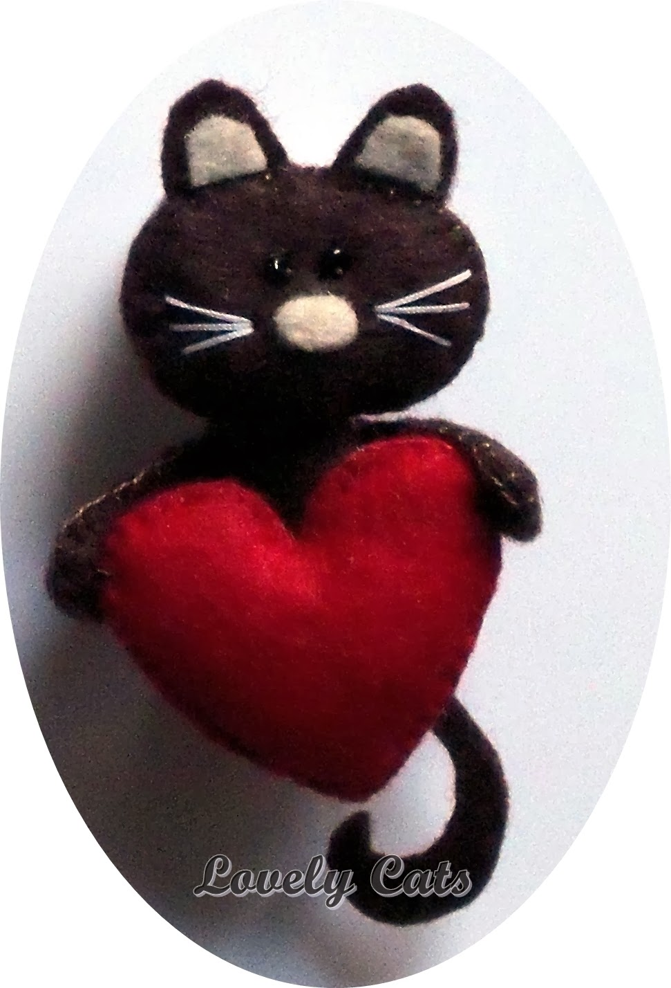Susies, lovely cats, fieltro, broches, muñecas, handmade
