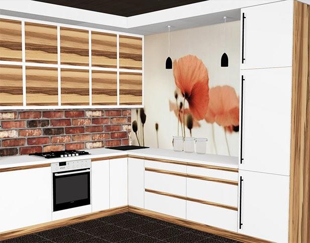 projekty kuchni  Blog o projektowaniu mebli -> Kuchnia W Kolorze Kości Sloniowej