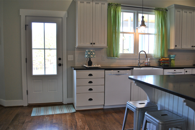 New every morning farmhouse kitchen an update for What kind of paint to use on kitchen cabinets for christmas glitter stickers