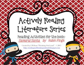 https://www.teacherspayteachers.com/Product/Actively-Reading-Series-Samurai-Santa-2230139