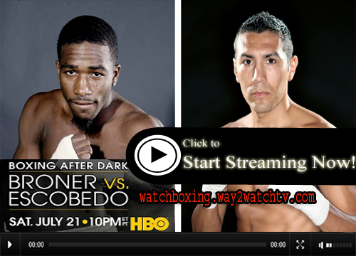 Watch Adrien Broner vs Vicente Escobedo  Live Stream Boxing Online