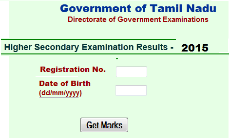 TN HSC Results 2015-Tamil Nadu Board 12th Results-TN 12th Public.