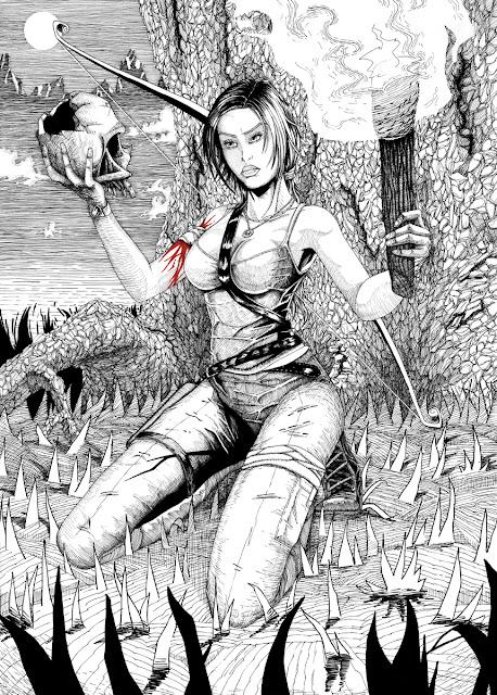 Oryginalny plakat Tomb Raider Reborn: Lara Croft na sprzedaż.