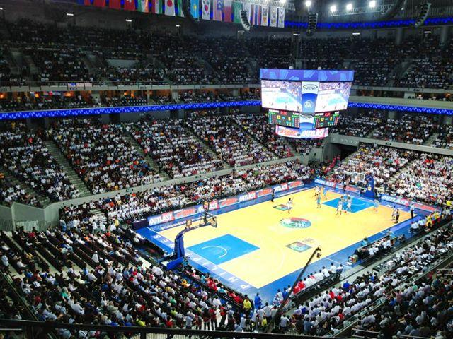 SM Mall of Asia Arena FIBA Asia 2013 Quarter-Finals Kazakhstan vs. Gilas Pilipinas