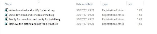 4 pilihan automatic updates