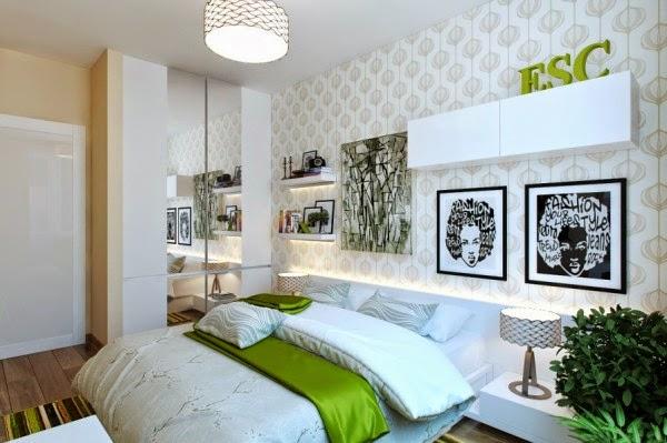 4167 ديكورات و اثاث غرف نوم   حوائط و الوان لغرفة نوم مودرن و كلاسيك