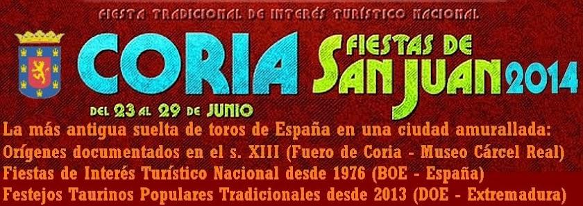 Sanjuanes de Coria 2014. Previo.