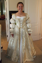 Amy's Renaissance Wedding Dress