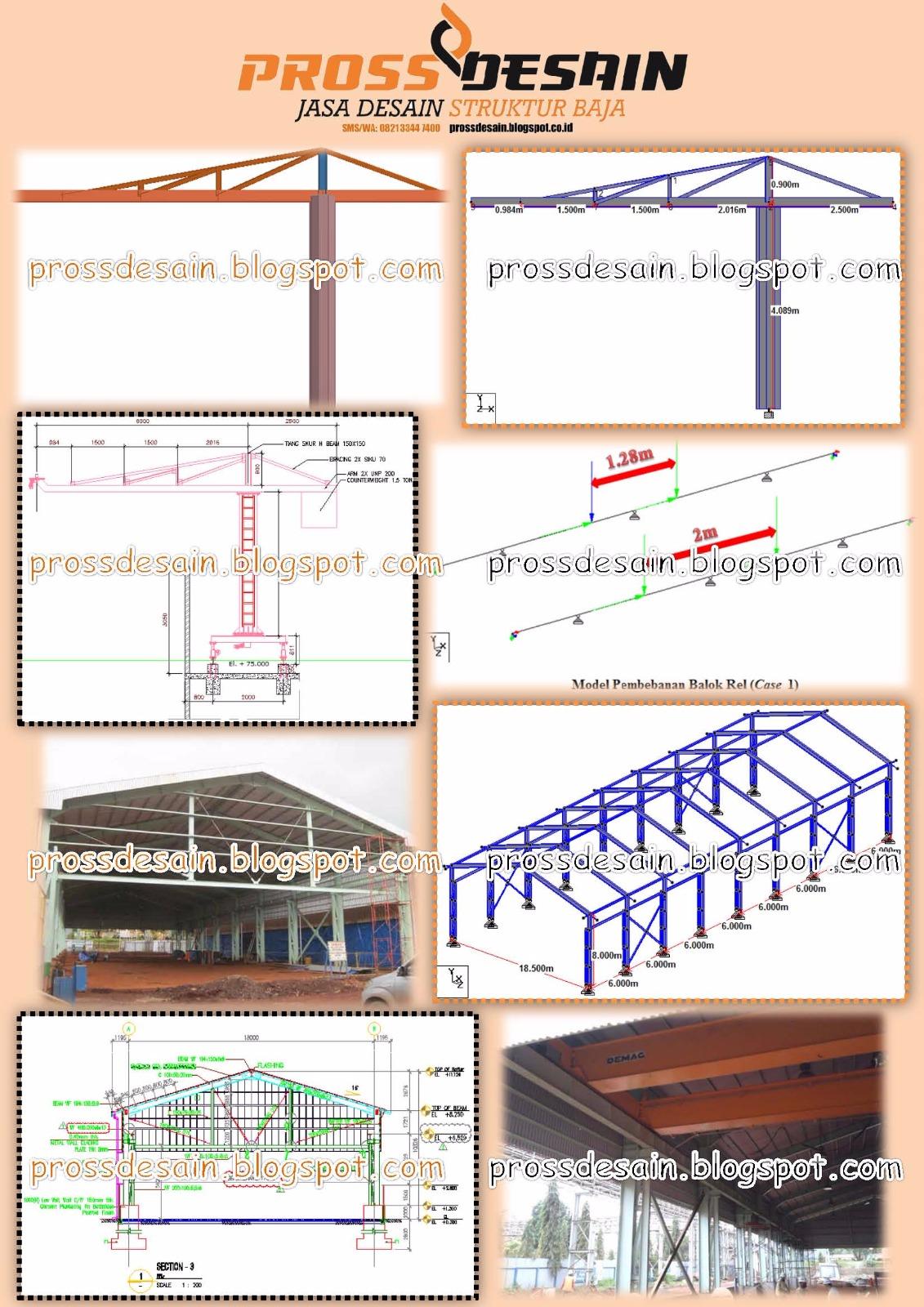 Jasa Desain Struktur Baja