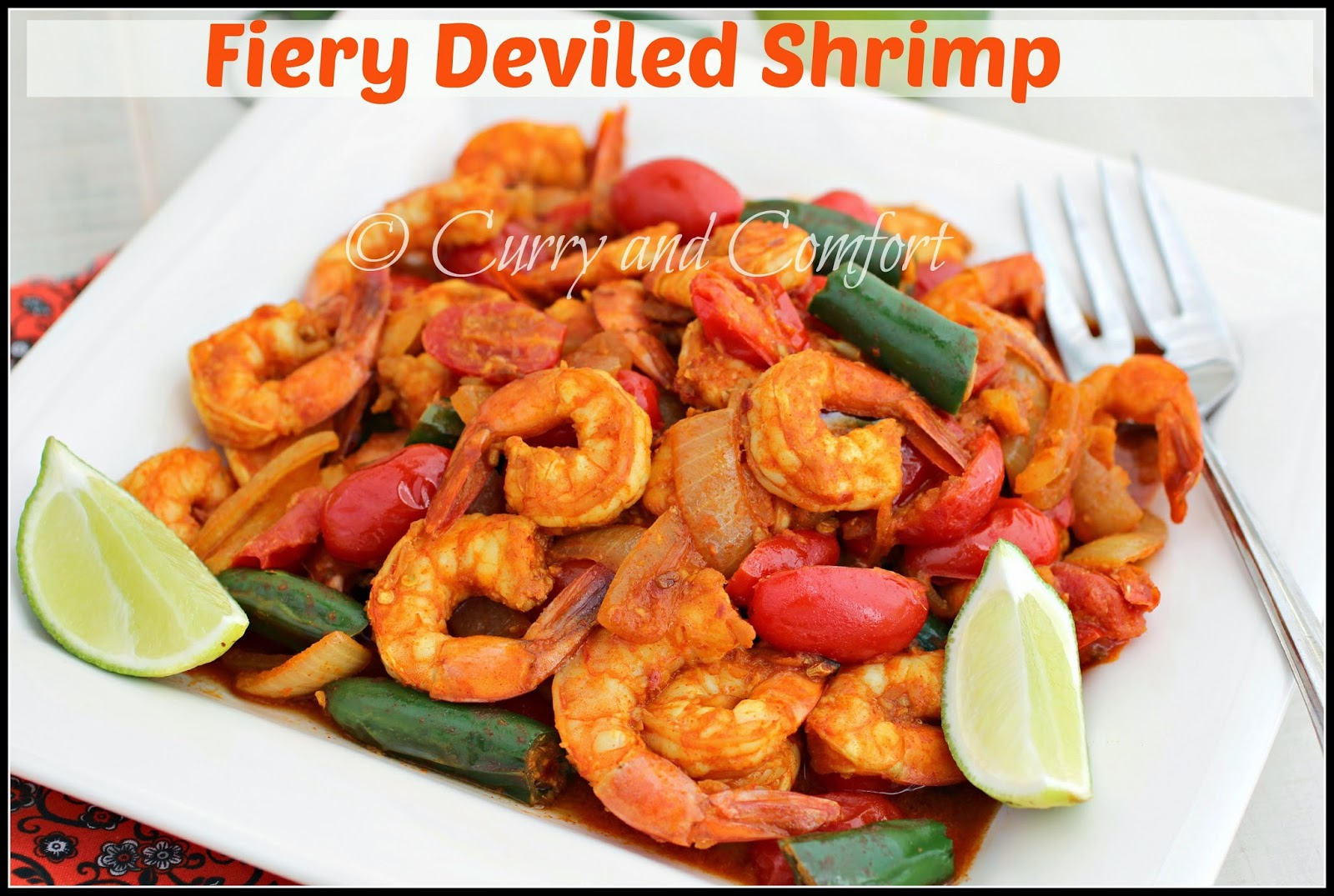 Curry and Comfort: Fiery Deviled Shrimp Curry