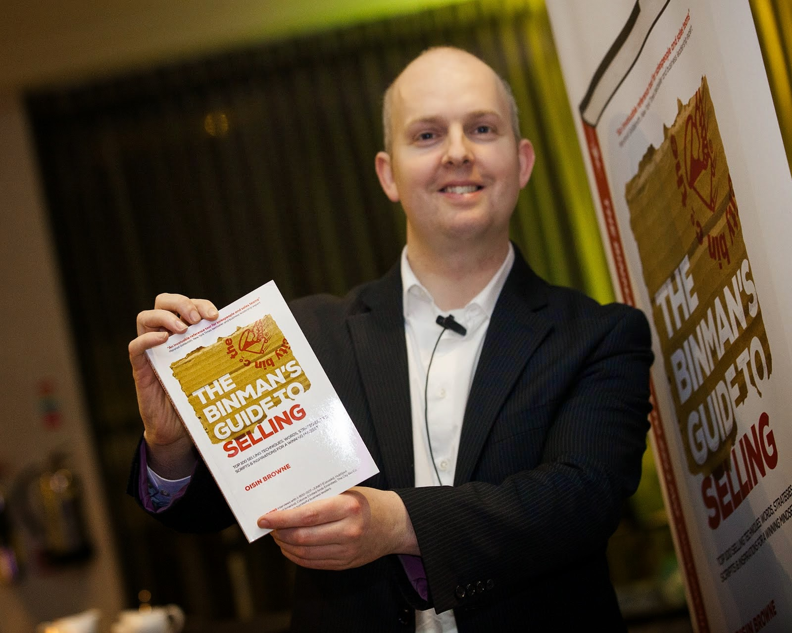 Check out Oisin's Book: The Binman's Guide to Selling
