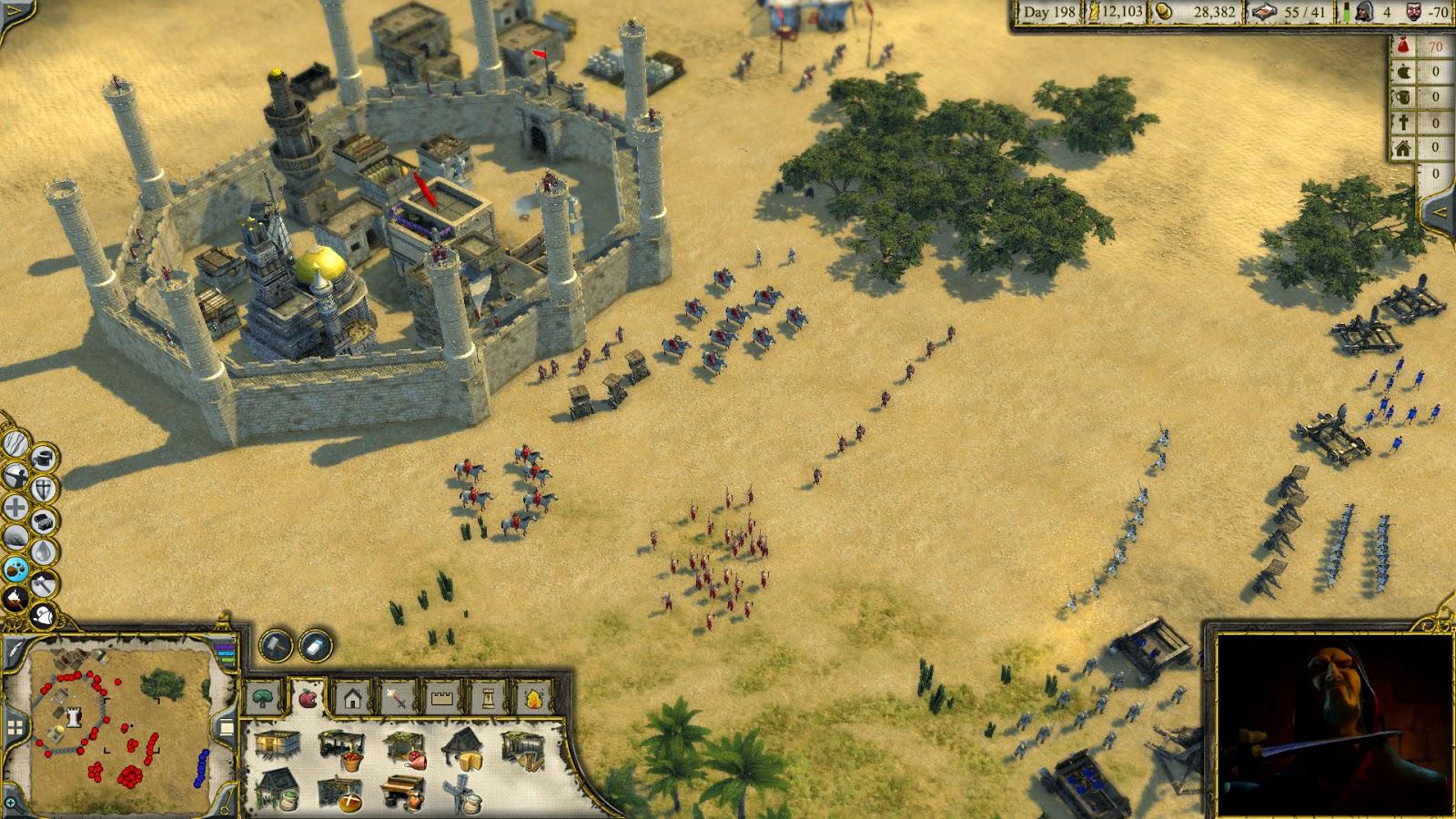 как быстро добывать еду в игре stronghold crusader 2