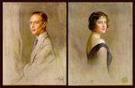 King George VI &amp; Queen Elizabeth